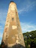 Endurance. Old Baldy Lighthouse, Bald Head island, North Carolina, USA royalty free stock image