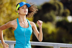 Endurance athlete portrait Royalty Free Stock Photo