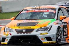 ENDURANCE 24 HOURS CAR RACE - BARCELONA Royalty Free Stock Photo