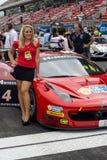 ENDURANCE 24 HOURS CAR RACE - BARCELONA Stock Images