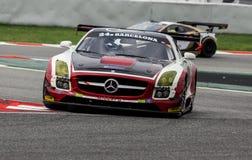 ENDURANCE 24 HOURS CAR RACE - BARCELONA Royalty Free Stock Photography