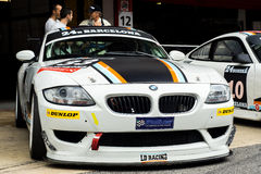 ENDURANCE 24 HOURS CAR RACE - BARCELONA Royalty Free Stock Images