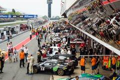 ENDURANCE 24 HOURS CAR RACE - BARCELONA Stock Photo