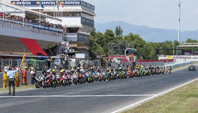 ENDURANCE 24 HOURS MOTO RACE - CATALUNYA Royalty Free Stock Photos