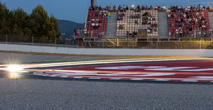 ENDURANCE 24 HOURS MOTO RACE - CATALUNYA Stock Image