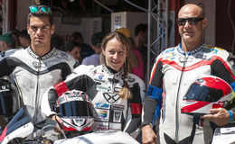 ENDURANCE 24 HOURS MOTO RACE - CATALUNYA Royalty Free Stock Image