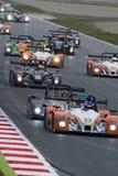 Endurance Proto Race. V de V Endurance Series. At Circuit de Barcelona. Montmelo, Spain. March 21, 2015 stock image