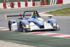 ENDURANCE PROTO V DE V. That celebrates at Circuit de Cataluña, Barcelona, Spain on days 22-23 March 2014 Driver Number 28, MAULINI/WOLFF/ATTIAS royalty free stock photography