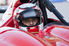 ENDURANCE PROTO V DE V. That celebrates at Circuit de Cataluña, Barcelona, Spain on days 22-23 March 2014 Driver before the start of the Race royalty free stock photography