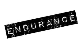 Endurance rubber stamp. Grunge design with dust scratches. Effects can be easily removed for a clean, crisp look. Color is easily changed Stock Photos