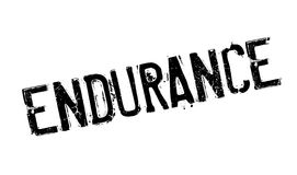 Endurance rubber stamp. Grunge design with dust scratches. Effects can be easily removed for a clean, crisp look. Color is easily changed Royalty Free Stock Photography