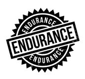 Endurance rubber stamp. Grunge design with dust scratches. Effects can be easily removed for a clean, crisp look. Color is easily changed Royalty Free Stock Images