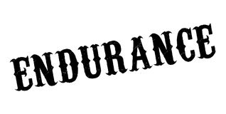 Endurance rubber stamp. Grunge design with dust scratches. Effects can be easily removed for a clean, crisp look. Color is easily changed Stock Image