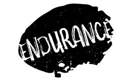 Endurance rubber stamp Stock Photography