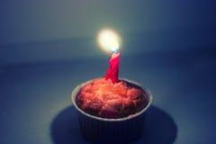 Endureça e candle a foto colorized vitage, instagram-como o filtro Fotografia de Stock