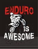 Enduro是令人敬畏的 免版税库存照片