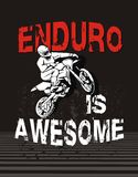 Enduro is awesome Royalty Free Stock Photo