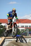 Enduro Competition - RedBull Romaniacs Sibiu 2012 Royalty Free Stock Image