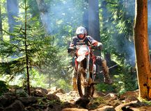 Enduro cross championship Stock Images