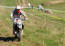 Enduro cross championship Royalty Free Stock Photo