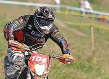 Enduro cross championship Royalty Free Stock Image