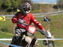 Enduro cross championship Royalty Free Stock Photos
