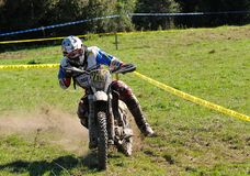 Enduro cross championship Royalty Free Stock Images