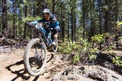 Enduro #2 - curvatura dell'Oregon Fotografia Stock Libera da Diritti
