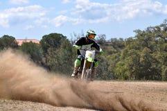 Enduro jeździec zdjęcie royalty free