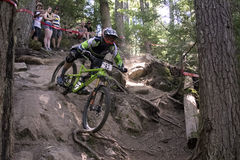 Enduro mistrzostw świata roweru rasy Whistler Fotografia Stock