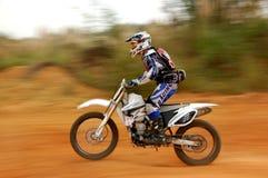 Enduro Motorcycle rider Stock Photography