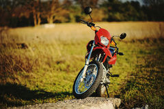 Enduro motorcycle Royalty Free Stock Photos