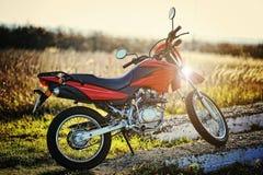 Enduro motorcycle Royalty Free Stock Images
