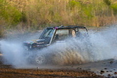 Enduro off-roading in five-day race Russian rally 2014 Stock Photography