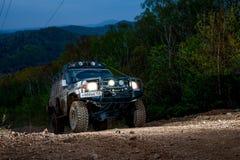 Enduro que off-roading na reunião de cinco dias 2014 do russo da raça Fotografia de Stock Royalty Free