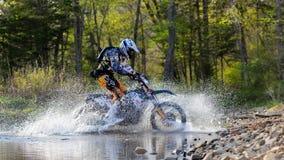 Enduro que off-roading na reunião de cinco dias 2014 do russo da raça Fotos de Stock