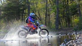 Enduro que off-roading na reunião de cinco dias 2014 do russo da raça Foto de Stock Royalty Free