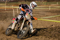 Enduro race Stock Image