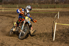 Enduro race Stock Photography