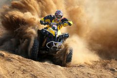 Enduro race Royalty Free Stock Image