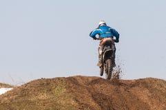 Enduro racerbilar Royaltyfri Foto