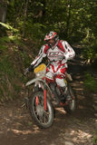 Enduro rider Stock Photography