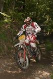 Enduro rider Stock Photography
