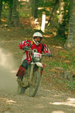 Enduro rider Stock Images