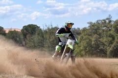 Enduro rider Royalty Free Stock Image