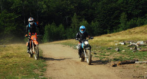 Enduro riders Royalty Free Stock Images