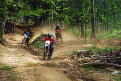 Enduro riders Royalty Free Stock Photo