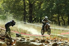 Enduro season Stock Images