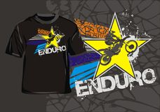 Enduro star Stock Image