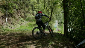 Enduro-Zeit Stockfotos